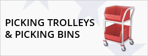 Picking Trolleys & Picking Bins