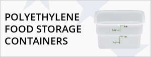 Polyethylene Food Storage Containers