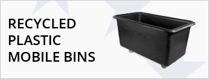 Recycled Plastic Mobile Bins