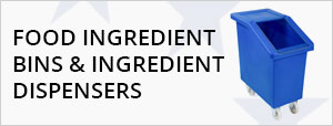 Food Ingredient Bins & Ingredient Dispensers