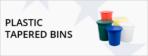 Plastic Tapered Bins