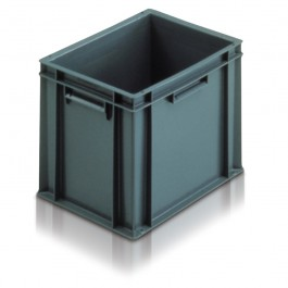Solid Euro Stacking Container 400x300x319mm - 21030