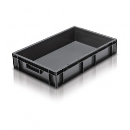 *****  LOW PRICE SPECIAL OFFER  *****  Solid Stacking Container 600 x 400 x 118mm