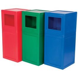 Supertuff Square Litter Bin - LBIN01