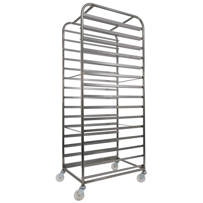 Confectionary tray rack