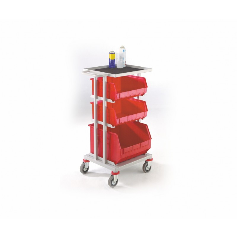 3 Shelf Picking Trolley