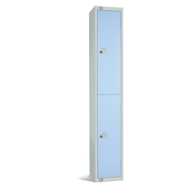 Two Door Steel Locker - LKS2
