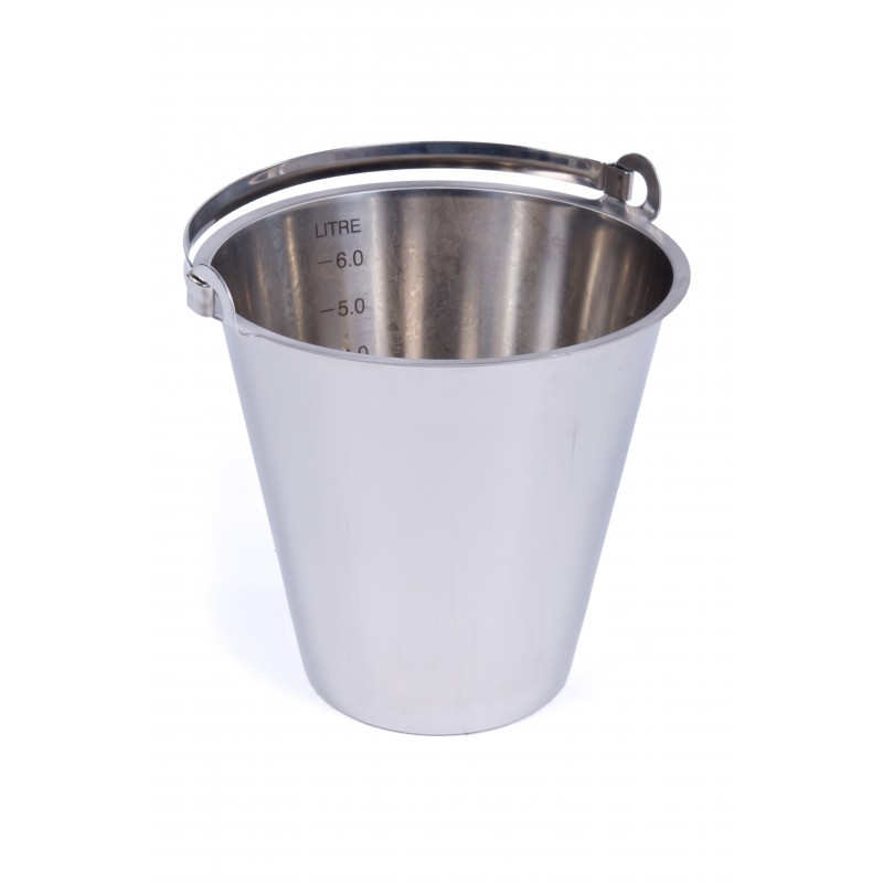 Stainless Steel Bucket 12 Litres