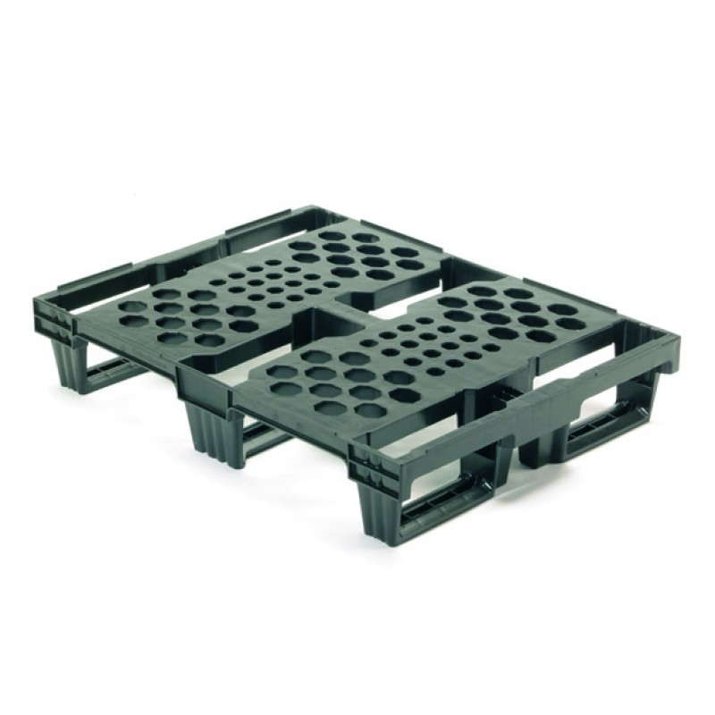 Nestable Plastic Pallets 800 x 600mm - 5590