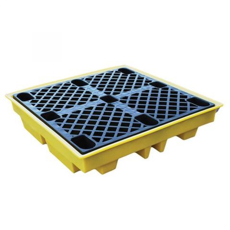 4 Drum Large Spill Pallet - BP4L