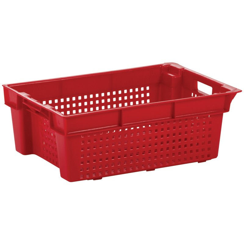 ***NOW £7.50 Exc VAT***  SN0112 Perforated Stack / Nest Container (600 x 400 x 200 mm)
