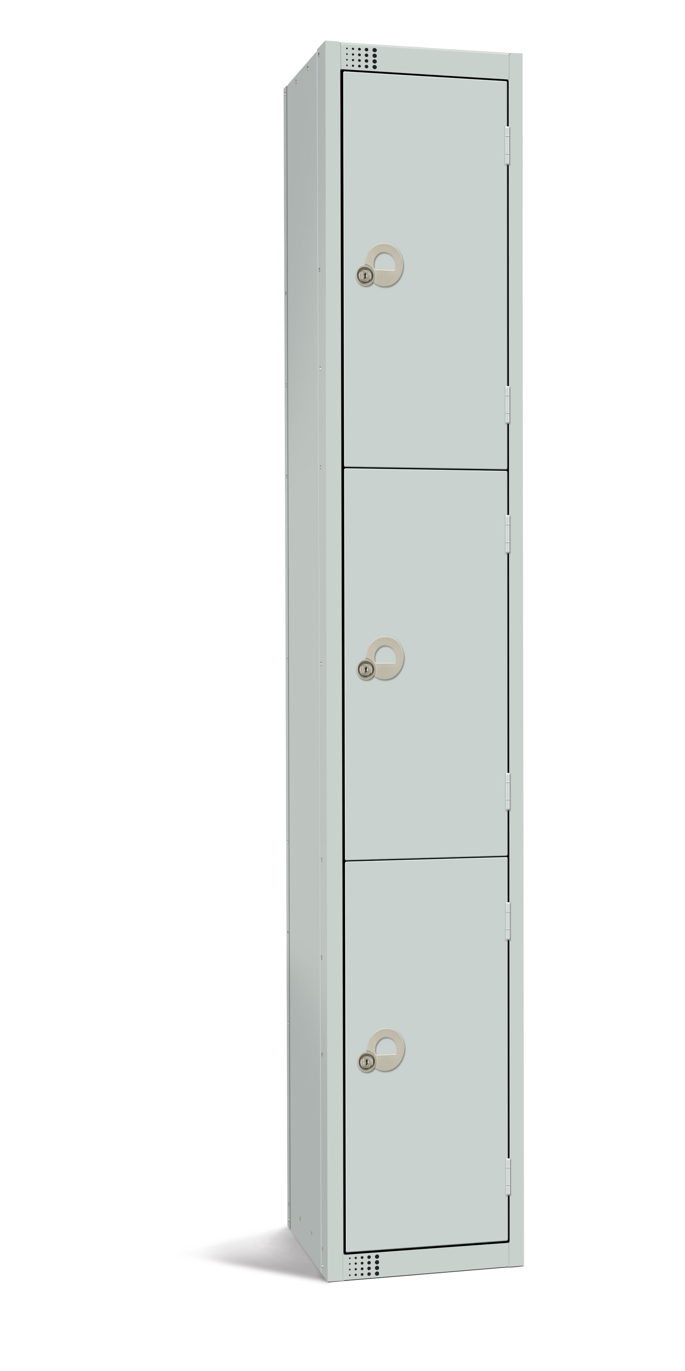 Three Door Steel Locker Lks3 Fletcher European Containers