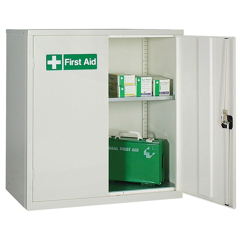medium first aid cabinet plastic containers plastic dollies plastic trucks plastic pallets. Black Bedroom Furniture Sets. Home Design Ideas
