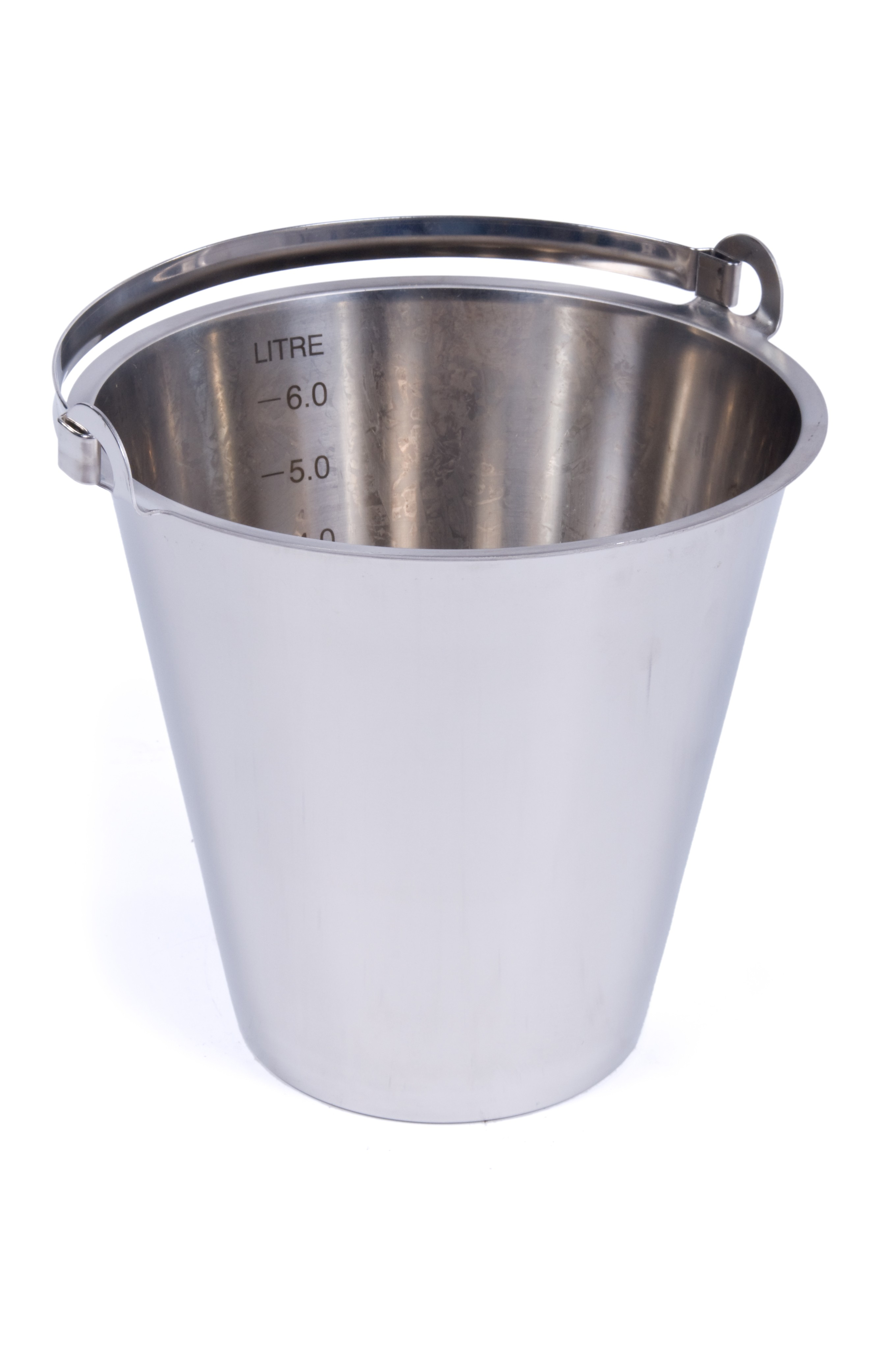 Stainless Steel Bucket 10 Litres Fletcher European