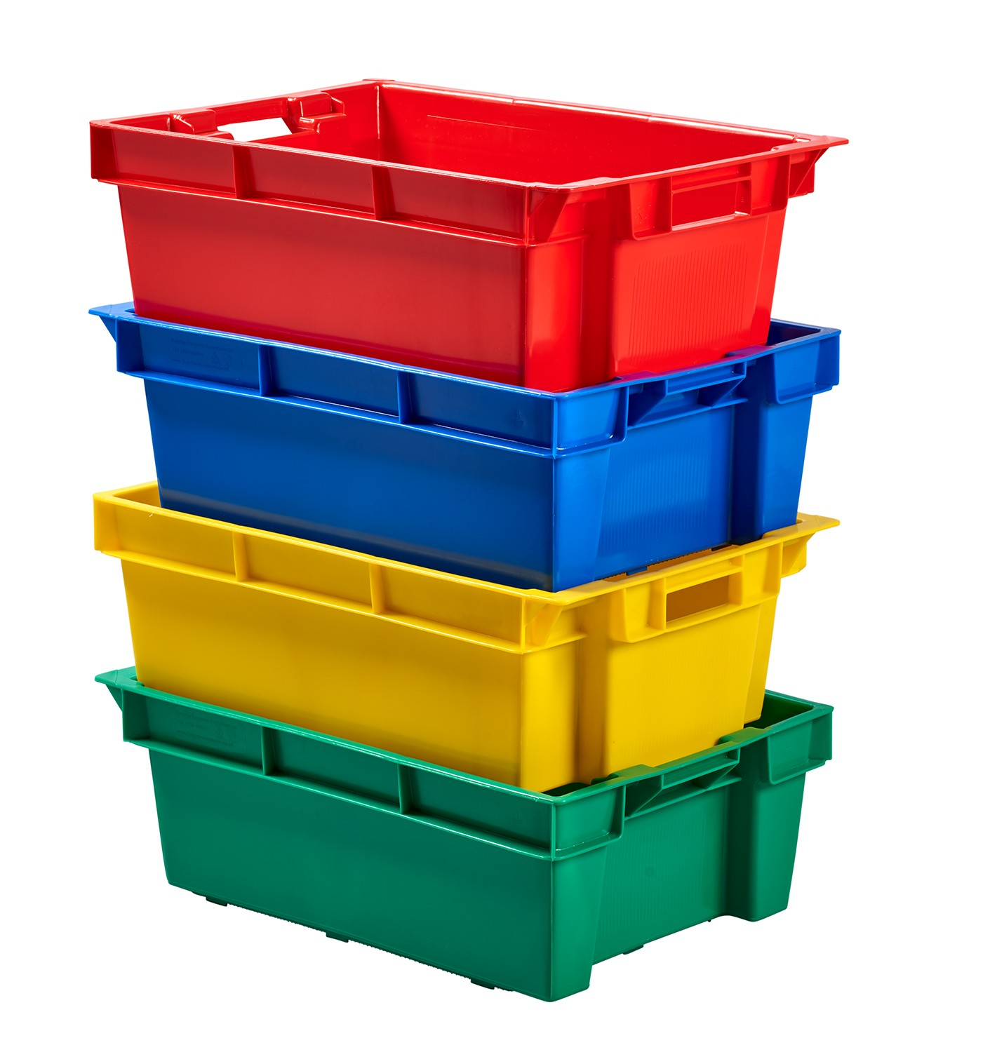 Stack Nest Plastic Container Plastic Stacking Boxes