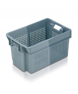 Perforated Stack / Nest container 600x400x300mm - 11052