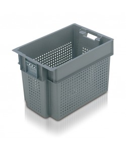 Stack / Nest container 600 x 400 x 400mm (Perforated)
