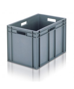Solid Euro Stacking Container 600x400x319mm - 21060
