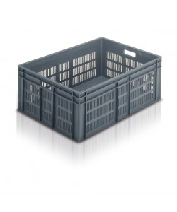 Euro Stacking Container 800 x 600 x 319mm (Perforated)