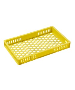 30183C Colour Coded Plastic Confectionery Trays (Yellow)
