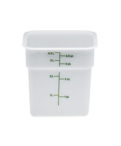 Polyethylene Food Container 3.8 Litre - 4SFSP