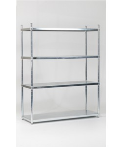 Stainless Steel Shelving - Solid Shelves - SS126017S