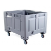 Wheeled Plastic Pallet Box - CR650C