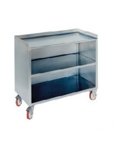 Stainless Steel Mobile Bench