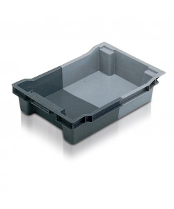 Solid Stack / Nest container 600x400x118mm - 11018