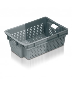 Perforated Stack / Nest container 600x400x200mm - 11034