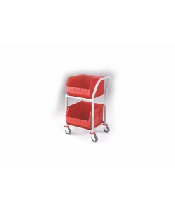 2 Shelf Picking Trolley