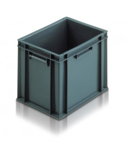 *** NOW: £9.50 Exc VAT *** 21030 Solid Euro Stacking Container 400 x 300 x 319mm