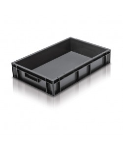 ***** NOW: £6 Exc VAT  *****  Solid Stacking Container 600x400x118mm - 2A021