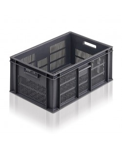 Perforated Euro Stacking Container 600x400x235mm - 2A044