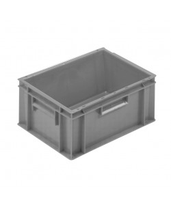 Solid Euro Stacking Container 400x300x235mm - 21020
