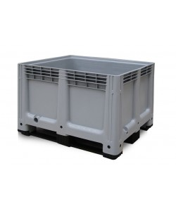 ****** NOW: £120 Exc VAT ******  Plastic Pallet Box 610 Litre BP1210GR