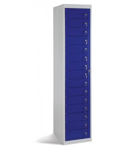 Fifteen Door Garment Dispense Locker - GLK15