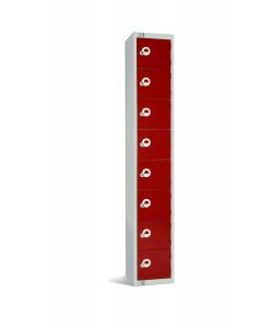 Eight Door Steel Locker - LKS8
