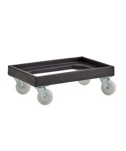 Recycled Plastic Dolly rotoXD90REC BLACK