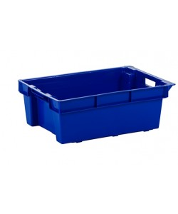 ***NOW £7.50 Exc VAT***  Solid Stack / Nest Container 600x400x200mm - SN0113