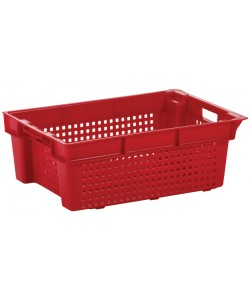 ***NOW £7.50 Exc VAT***  Perforated Stack / Nest Container 600x400x200mm - SN0112