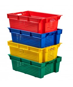 Stack / Nest Plastic Container 600x400x200mm - SN0112