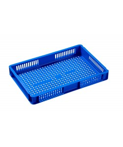 Blue Euro Sized Plastic Boxes (21014)