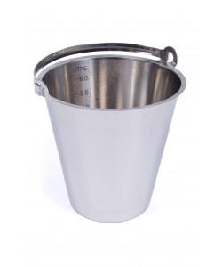 Seau en acier inoxydable 12 litres