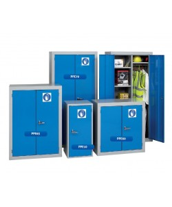 Grande armoire à double portes pour le rangement des EPI