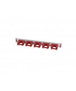 Rail de suspension à 5 crochets