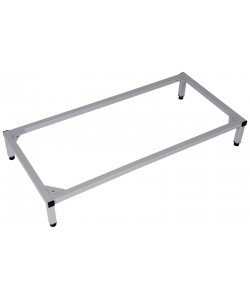 Steel locker stands
