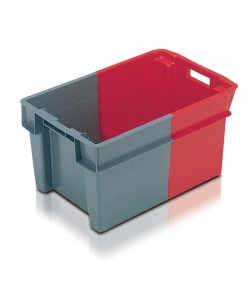 11051 Solid stack nest container