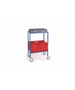 Kundenspezifischer Kommissionierwagen mit 2 Etagen