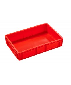 2A021 (Red) Colour Coded Plastic Stacking Containers
